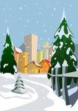 Vector city Royalty Free Stock Photos
