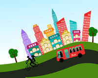 Vector city design element vector  illustration Royalty Free Stock Image
