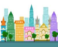 Vector city design element vector  illustration Stock Photography