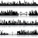 Vector City Scape Stock Photos