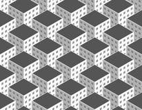Vector city seamless pattern Royalty Free Stock Photo