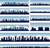 Vector city skylines vector illustration