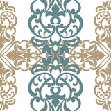 Vector classic decor pattern element in Eastern Style Royalty Free Stock Photography