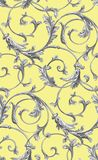 Vector classic seamless pattern background. Classical luxury old fashioned classic ornament, royal victorian seamless texture for. Wallpapers, textile, wrapping royalty free illustration