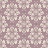 Vector classic wallpaper, damask background Stock Photography