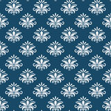 Vector classical damask seamless pattern Stock Photo