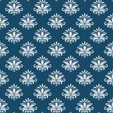 Vector classical damask seamless pattern. Design renaissance, revival baroque, luxury regal endless, vector illustration Stock Photo