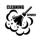 Vector cleaning service icon Stock Photo