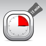 Vector clock Stock Images