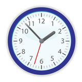 Vector clock Royalty Free Stock Image