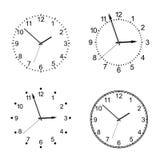 Vector clock Royalty Free Stock Photo