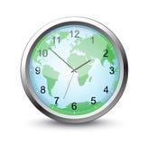 Vector clock Royalty Free Stock Photography