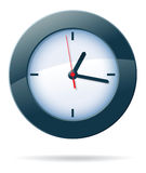 Vector clock Royalty Free Stock Photography