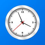 Vector Clock Icon Royalty Free Stock Images