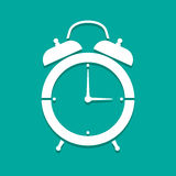 Vector clock icon Royalty Free Stock Photography