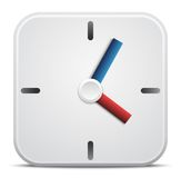 Vector clock icon Royalty Free Stock Photos