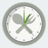 Vector  clock Stock Photo