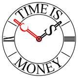 Vector clock Stock Image