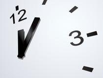 Vector clockface Royalty Free Stock Image