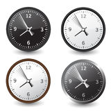 Vector clocks Stock Photo