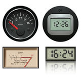 Vector clocks Stock Photos