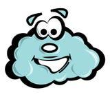 Vector cloud Stock Image