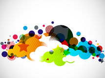 Vector cloud design Stock Photography