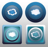 Vector cloud icon Stock Image