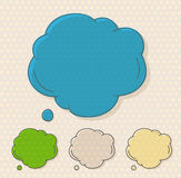 Vector, clouds, cartoon, idea, sale, form, concept, shape, hand- Stock Image