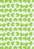 Vector clover for Patrick day Stock Photos