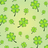 Vector clovers background Stock Photography