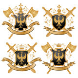 Vector coat of arms. Royalty Free Stock Photo