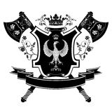 Vector coat of arms. Stock Images