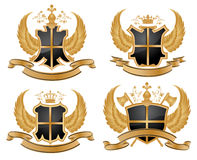 Vector coat of arms. Stock Photo