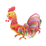 Vector cock Stock Image