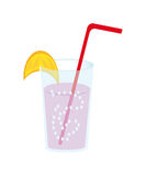 Vector coctail Royalty Free Stock Images