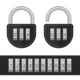Vector code lock. Stock Photo