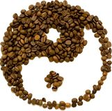 Vector coffee beans Royalty Free Stock Photo