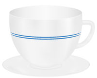 Vector coffee cup Stock Photography