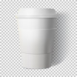 Vector Coffee Cup  on Transparent PS Style Background. P Stock Photos