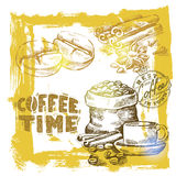 Vector coffee Royalty Free Stock Image