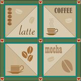 Vector coffee illustration Royalty Free Stock Photo