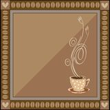Vector coffee illustration Royalty Free Stock Images