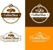 Vector Coffee Shop Logo vector illustration