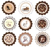 Vector coffee,tea Royalty Free Stock Images