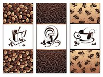 Vector coffee,tea banners Stock Photo