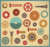 Vector cog icons Royalty Free Stock Photography