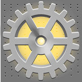 Vector Cogwheel. Gear System Stock Photography