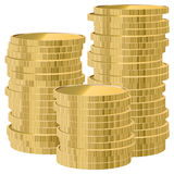 Vector coins Stock Image