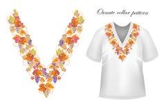Vector collar vintage design royalty free illustration